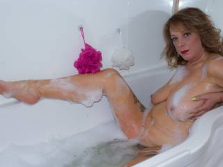 An image from a Bubble Bath Pin-Up shoot....It was great fun to shoot, hope you like this image? x
