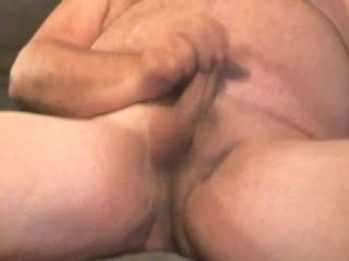 I just had to stroke my cock while watching a smokin hot lady playing with her pussy in chat