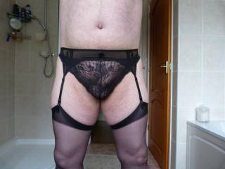 Stockings and suspenders!!