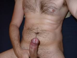 i know i'd love to grab that thick sausage reminds me of my 9 1/2 inch uncut cock!! the fun playing with them!!
