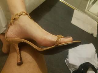 my gf feet closeup