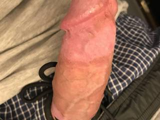 Playing with my cock! Do you like it veiny?
