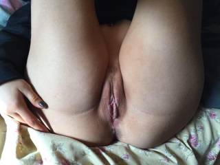 Love when you describe my pussy such a turn on seriously could touch my self for days over your comments