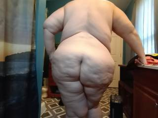 A shot of my wifes ass.