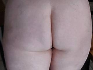 Wife's fat ass, she needs bending over and shafting