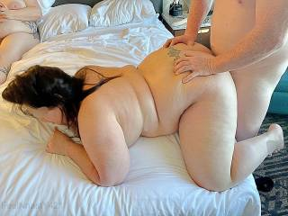 Such a hot experience seeing Mrs. Nasty fucked by another guy!