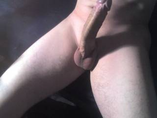 Mmmm you're from jersey, id love to cum n slide my dripping wet pussy all the way down on that massive cock n have you fuck my brains out (;