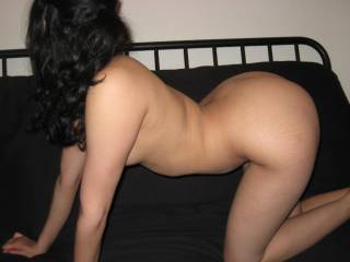 amazing side view, I would love to your bare ass up against me will I bury my hard cock in you