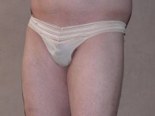 """i wanted to let you see my little """"cock"""" in my sheer g-string..."""