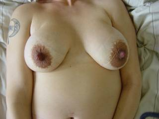 Lovely breasts and nipples girl