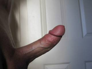Mmmmm, looks delicious... i want to get all the cum out of it... You prefer a blowjob or riding you with my wet pussy?