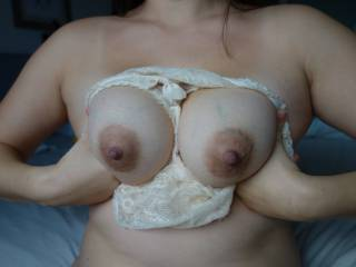 beautiful tits, I thing you should wrap those tits around my cock and let me slowly tit fuck you