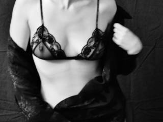 sexy lingerie...love the nipple coming thru