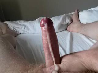 would have love to been in front of that beautiful long, thick exploding uncut cock!!! swallow down on that awesome uncut cock!!!