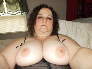 Would you like my cock between those big tits ?