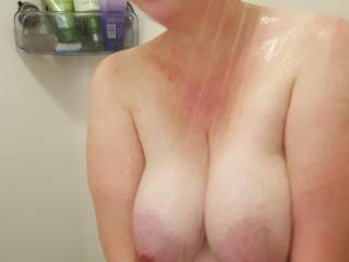who wants to play with my heavy milk filled tits?