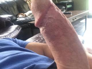 Who wants to suck this big hard cock?