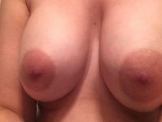 My new girlfriends titties