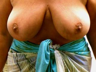 I love your tits and so does my cock.  see my pics