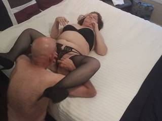 Spread those legs, dear... I am famished. Watch my wonderful meal on our latest pussy eating video. Ladies... Who\'s next?