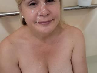 Tub time facial