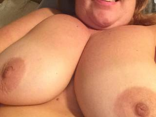 Who wants a tit wank