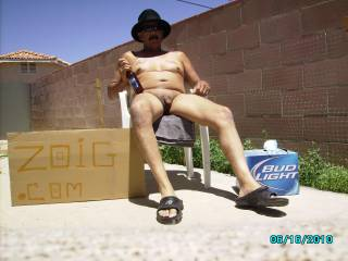 Just kicking Back Enjoying The beautiful day! Having Some Cold Ones.