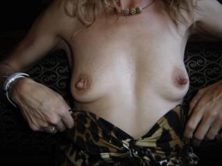 luv your big nipples...........mmmmmmm
