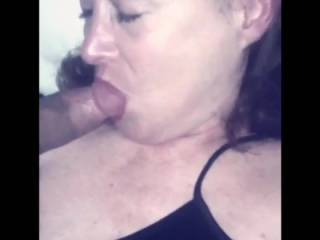 Nice and slow, I'd like to have her suck my cock 😵