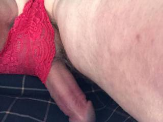 feel the need to pull your knickers to one side and fuck you with my hard cock...