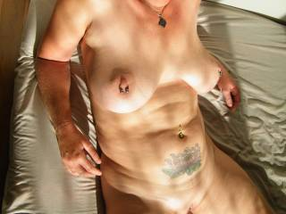 I´m ready to slide my cock deep into your pussy and ass!