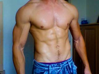 My husbands training efforts (was 25% body fat 3 months prior) !!!