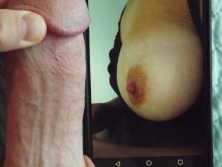Sulusulu's perfect tit and lickable nipple!