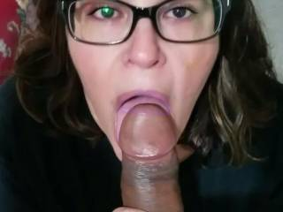 She's wanted more cum