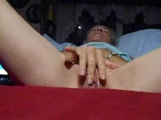 of course i was really horny after playing with my pussy pump so... first vid  showing my face. be kind let me know if you like seeing my face or prefer those without