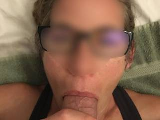 Another amazing BJ from Hothello. Maybe if you ever run into her you would get the chance to have your cock in her mouth. Now she is really going for it. She loves to please.