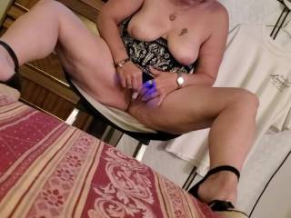 mr. loves to film me playing with my pussy...i like giving mr. what he likes....