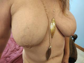 I need you to make these shine. Cover my big tits with your love!