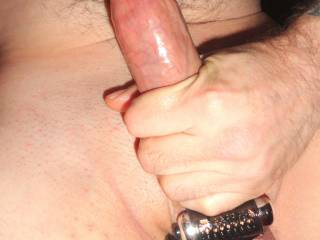 doesn\'t his cock look good with that cock ring on?