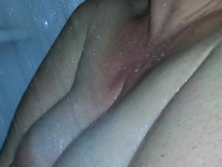 Beautiful wet pregnant titties