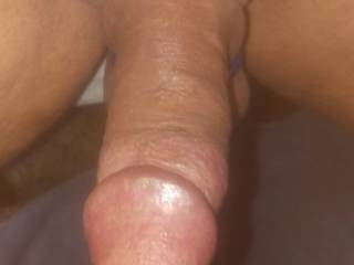 Like to have my cock and balls nice and tight while masturbating. Like to cup and tug on my balls when I get ready to cum!
