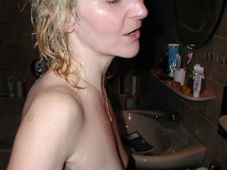 side view of boob