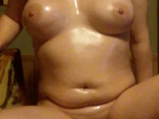 another oiled up body shot