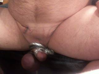she told me to clamp my balls so i did