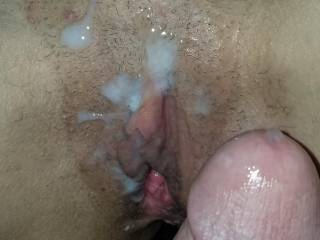 Pussy cock and cum