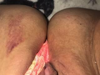 Pussy was still bruised three days of fucking my hot new friend!