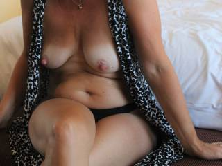 I LOVE having my big nipples sucked