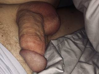 Cock and balls exposed for you.