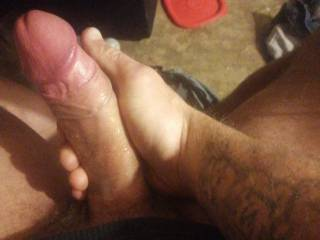 im alone so im playing with my Dick looking at so some bisexual porn..