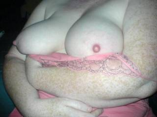 I'd love to suck on those nice tits.